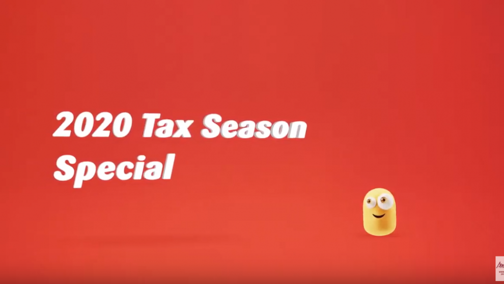 2020 March Personal Tax Return Services Promotion