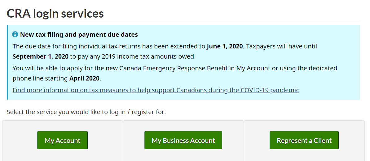 Government Of Canada S Covid 19 Economic Response Plan Accounting Plus Financial Services