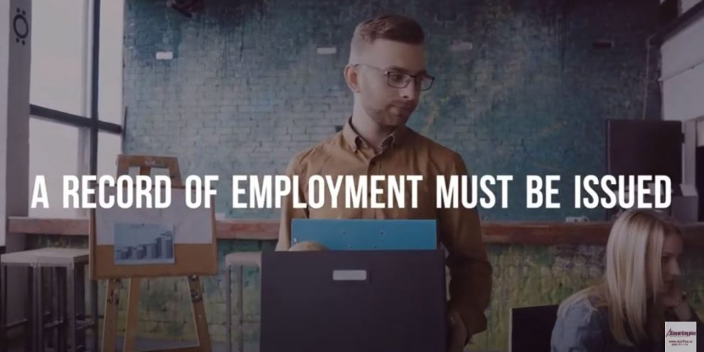 Record of Employment