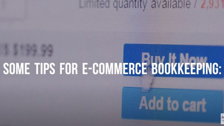Tips for E-commerce Bookkeeping