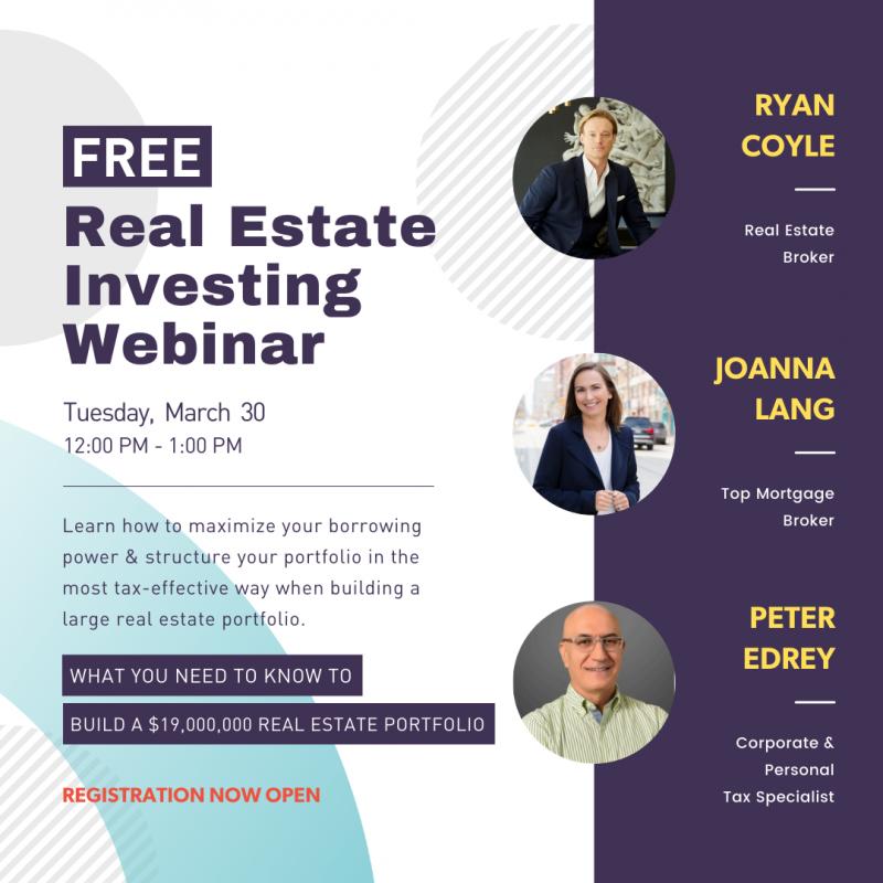 Real Estate Investing Webinar